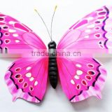 2015 decorative 70cm butterflies for shopping center