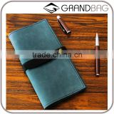New designer hand-made cowhide leather wallet retro couples wallet unisex wallet purse
