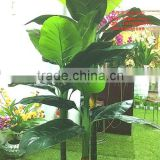 2014 the hot sale plant tree type large leaf evergreen leafartificial plants artificial banana plants