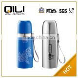 Eco-friendly double wall 18/8 stainless steel water dispenser vacuum funky thermos for hot food with wide-neck