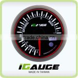 52mm 3 colors LED display auto gauge with warning and peak recall function Electrical AFR Air Fuel Ratio Gauge