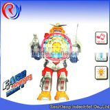 ali baba popular item cheap electric robot B/O robot toy hight quality products