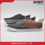 Factory wholesale new style comfortable fabric upper men shoe 2016