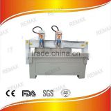 jinan Remax high precision metal process cnc router 4.5kw spindle metal cutting cnc router machine