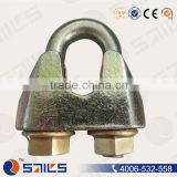 din1142 malleable iron wire grip clamp