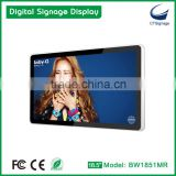 branded export CTSignage LCD screen 18.5 Inch 3G/Wifi Bus Digital Display Network LCD Advertising Display