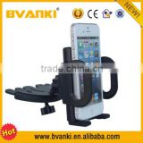 For iPhone/Android CD Slot Car Holder,Adjustable 360 Rotation Universal Car CD Slot Mobile Phone Mount Holder Stand