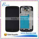 Brand New Replacement OEM for LG E960 LCD Touch Digitizer with Frame Black