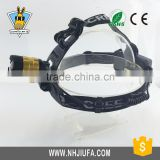 JF 10W high power zoom headlamp,T6 3-Mode 800lm White Zooming LED Headlamp Headlight,New Super Bright headlamp