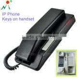 Unique bathroom waterproof IP phone,slim telephone wall mounted phone