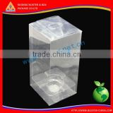 (short lead time) High Quality pvc box packaging, clear pvc gift box, clear pvc boxes with handle