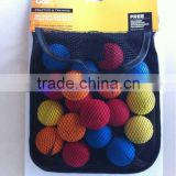 new design convenient golf ball mesh bag