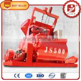JS 500 2016 New product Factory direct sell High quality 1 yard 2 yard concrete mixer for sale
