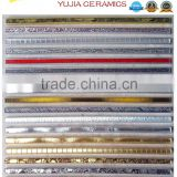 20x250,30x300,45x300 2015 Hot sell products:golden border line,ceramic border tile,decorative ceramic tile border