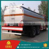 SINOTRUK covered with double layer steel plate 6*4 20cbm capacity fuel tank truck and trailer