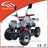 49cc mini quad for kids with 4 stroke engine with snow trye