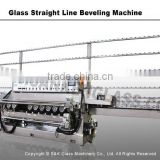 Sanken 9 Spindle Beveled Edge Glass Polishing Machine