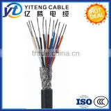 450/750V Multicore Copper Conductor PVC Insulated and Sheathed Braiding Screened/Shielded Control Cable