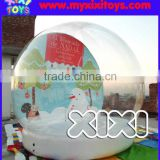 2016 Outdoor large snow globe inflatable christmas decorations                                                                         Quality Choice