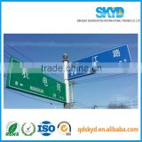 polypropylene pp plastic corrugated sheet road signs board