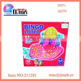 Hot sale kids plastic toy bingo lotto machinec ball bingo