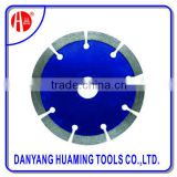 Horizontal cutting blade and segment diamond saw blade for concrete,tile and marble cutting power tools