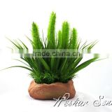 uv-resistance durable artificial plastic outdoor garden plants ornaments with best quality artificial flower bonsai