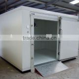 walk-in movable cold room cold storage freezer room with bizer copeland condensing unit