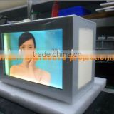 Transparent Video Display,lcd wall mounting advertising player - good price and high quality