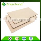 Greenbond acp color card aluminum composite board