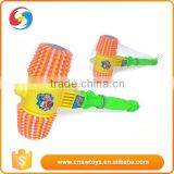 Funny impact plastic kids hammer play toy with sound
