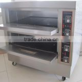 2 deck 4 tray electric economic bread ovens bakery equipment                                                                         Quality Choice