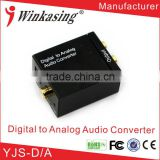 New Products Digital to Analog with 3.5mm Earphone Audio Converter YJS-D/A