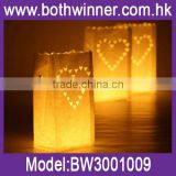 Wholesale Hot selling luminary paper candle lantern bag