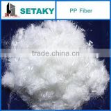PP Fiber (Polypropylene fiber) for wall putty powder (skim coat)- additives- SETAKY--XINDADI GROUP