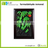 High quality bamboo wall art decoration painting