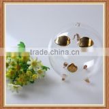 Best selling China factory wholesale high quality handmade new fashion coin counter clear glass piggy bank