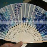 Gift use and Europe regional feature wedding decoration hand fan bamboo product