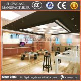 Supply all kinds of food display warmer,glass window led display,20 golf ball display case wood