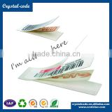 HF UHF 125khz small RFID tags smart antenna label, Paper roll RFID tags 125khz sticker, Waterproof cheap RFID uhf tags                                                                                         Most Popular
