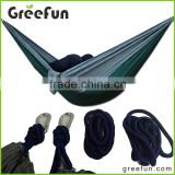 High Tenacity Breathable Hammock Tent, Hammock With Hammock Tree Straps Best Custom Support