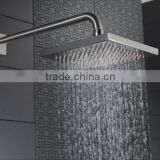Safety ABS 4'' ABS Cheap Plastic Waterfall Bath Top Bathroom Shower Heads Parts Manufacturer Shower Accessories Aluminum