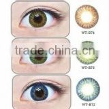 14.8mm fashion colored contact lenses WT-B7 X-tra series geo medical contact lens                                                                         Quality Choice