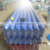 Prepainted corrugated sheet / color coated corrugated steel plate/roof building material from China manufacture