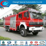 Bei ben 6x4 fire fighting truck