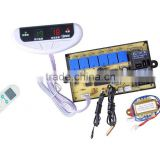 cabinet universal remote control temperature control air conditioning system for floor standing air conditioners