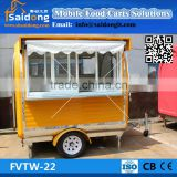 High Quality Electric mobile food trailer-catering truck-coffee vending cart with lowest price