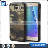 Cheap China supplier quality Army Color Camouflage Tpu PC Cover Back hybrid mobile phone Case For Samsung galaxy S7