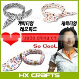 Cooling Ice Scarf Bandana Neck Cooler Headband