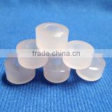 AAA Rose Color Quartz Smooth Handmade Big Hole Tyre Beads